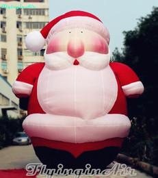 $enCountryForm.capitalKeyWord NZ - 6m Grandfatherly Inflatable Christmas Chubby Santa Claus for Outdoor Christms