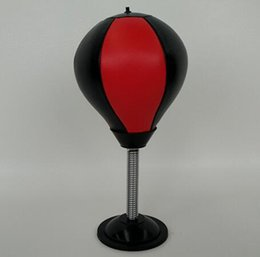 Stress Reliever Table Speed Ball Pugilism Ball Desktop Punching Bag  Vertical Boxing Ball Vent Decompression Office Toys Training Tools Punching  Bags Kids On ...