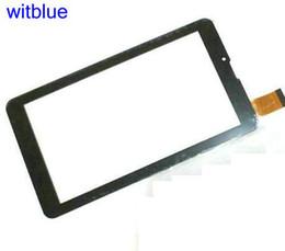 Wholesale Touchscreen Tablet NZ - Wholesale- New Touchscreen For Tablet 7'' For Irbis TZ45   TZ46   TZ50 3G Touch Screen Panel Digitizer Sensor Replacement Parts Black