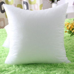 pp cotton filling 2019 - 45*45cm Pillow Core Nonwoven Fabrics PP Cotton Filling Throw Pillow Inner Cushion Inner Cushion Core Insert Pillow Fille
