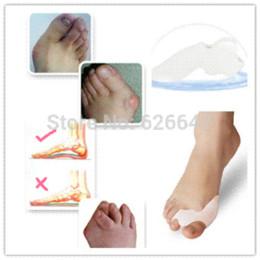 $enCountryForm.capitalKeyWord Canada - wholesale 10pcs = 5pairs gel bunion toe spreader eases pain fingers spreader Hallux Valgus Toe Protector Straightener spreader
