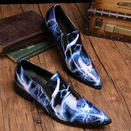 new pointy shoes men Australia - New Brand Spring Autumn Men Formal Wedding Shoes Luxury Men Business Dress Shoes Men Loafers Pointy Shoes Big Size 47 Zapatos Mujers