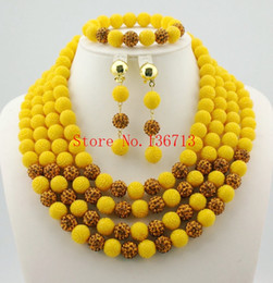 Indian Coral Beads Australia - Amazing Orange African coral Beads Jewelry Set Nigerian Beads Necklace Dubai Gold Plated Jewelry Sets 2016 New Free Shipping HD401-4