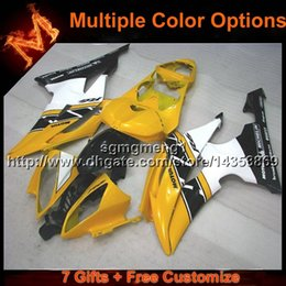 R6 Abs NZ - 23colors+8Gifts YELOW motorcycle cowl for Yamaha YZF-R6 2008-2015 YZFR6 2008 2009 2010 2011 2012 2013 2014 2015 ABS Plastic Fairing