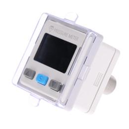 Vente en gros Freeshipping Mini Capteur de Pression de Vide Numérique Mètre Testeur de Pression Manomètre Indicateur de Pression Indicateur de Diagnostic -100.0 ~ 100.0kPa 12V ~ 24V