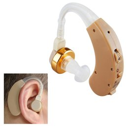 Amplificateurs De Sonore Derrière L'oreille Pas Cher-1 x Tone Hearing Aids Aid Behind The Ear Amplificateur de Bruit sonore réglable Kit LY230