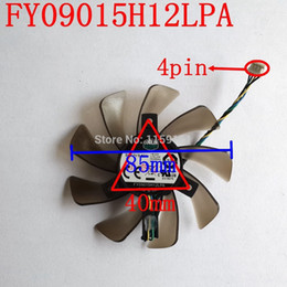 Free Cooling Fan Australia - Wholesale- Free Shipping FY09015H12LPA 4PIN 85mm DC12V 0.6A for Asus GTX460 GTX560 Sapphire HD6790 HD7950 cooling fan