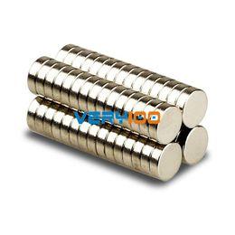 Neodymium Magnet Disc N35 Canada - 50pcs N35 Grade Strong Round Magnets 5mm x 1.5mm Disc Rare Earth Neodymium New order<$18no track
