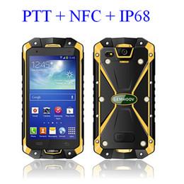 LEMHOOV L15 3800mAh аккумулятор IP68 Водонепроницаемый Android прочный мобильный телефон Walkie talkie VHF PTT NFC OTG