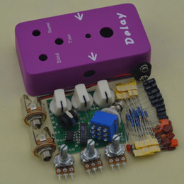 Echo Pedals Australia - Free Shipping Guitar Effect Pedal Delay And True Bypass Deep Delay Purple red Delay