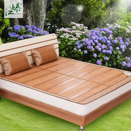 bamboo mat kit folding double faced mat rattan full queen king size 08m 09m 1m 135m 15m 18m bad mattress cover