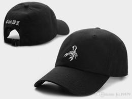 golf snap backs 2019 - Hot Sale Cayler & Sons Scorpion CSBL camo Baseball Caps Adjustable Snapback Snap back Hats men golf visor Hip-Hop 6 Pane