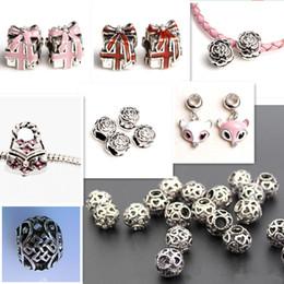 $enCountryForm.capitalKeyWord Canada - Loose Gemstone mulity-Beads Silver Spacer Beads Pandora Style Charms Skull Beads 925 Sterling Silver Openwork Heart Bead Jewelry Bracelets