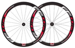bike wheels fast forward Canada - white red FFWD F4R bike carbon wheels 38mm tubular  clincher 700C road bike full carbon wheelset,fast forward bicycle carbon wheels