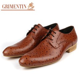 $enCountryForm.capitalKeyWord NZ - GRIMENTIN Italian designer mens dress shoes hot sale brand men oxford shoes genuine leather black orange formal business wedding male shoes