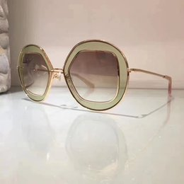 SunglaSSeS deSign italy online shopping - Luxury Sunglasses Popular Italy SUPER SUNG Fashion Round Sunglasses Top Quality Special Sunglasses Women Design UV Protection Come Case