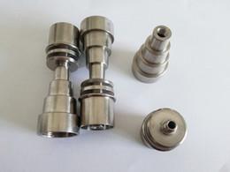 $enCountryForm.capitalKeyWord Canada - New D-Nail V1.2 head Infiniti hybrid itanium Domeless 16mm 20mm DNail for DIY Coil Heater titanium nail carb Caps
