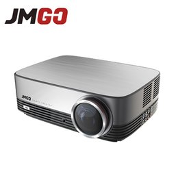 Proyector Wifi Australia - Wholesale- JMGO A6 LED Projector, 300 ANSI Lumens, 1280x768, Set in Android, WIFI,Bluetoot, HDMI, USB, VGA, Support Full HD Video Proyector