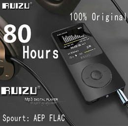 Wholesale 100% Original RUIZU X02 MP3 Player With 1.8 Inch Screen Can Play 100 hours, 8gb With FM,E-Book,Clock,Data