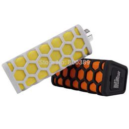 Altavoz inalámbrico portátil Bluetooth incorporado en el altavoz de choque estéreo impermeable del sonido estéreo del micrófono 3W para el coche del iPhone 5 6
