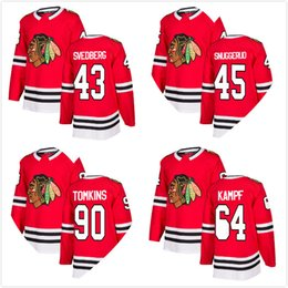 chicago blackhawks throwback jersey 2018 - 2018 New Styles Red Mens Chicago  Blackhawks Jersey David Kampf 2385905ee
