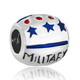 $enCountryForm.capitalKeyWord Canada - star military wife big hole metal slider bead European spacer charm fit Pandora Chamilia Biagi bracelet