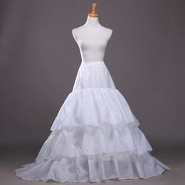$enCountryForm.capitalKeyWord Canada - New Arrival A Line Wedding Dress Petticoat White Underskirt Bridal Accessories Three Layers Petticoats Quinceanera Dress Crinoline In Stock