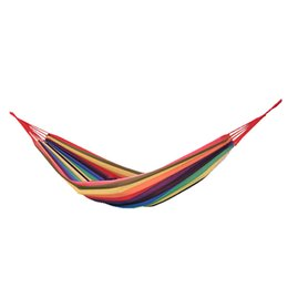 Chinese  Wholesale 5pcs lot Camping Durable Thicken Hammock Canvas Furniture Sleeping Hanging Chair Swings Bed 200x80cm manufacturers