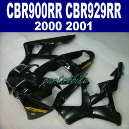 Honda Cbr929 Australia - New! Fit for HONDA CBR900RR fairing kit CBR929 2000 2001 bodykits CBR 900 RR 00 01 all glossy black fairings HB93