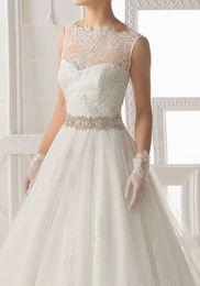 $enCountryForm.capitalKeyWord Canada - 2015 Best Selling luxury Satin Rhinestone Pearl Beaded Bridal Wedding Dress Sashes Belts wedding Accessories 2016 Customized
