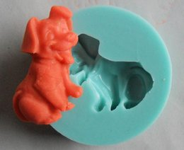 $enCountryForm.capitalKeyWord Canada - Cheap Sale DOG fondant Chocolate Candy Jelly Cake tool Silicone Mold Baking Pan bakeware Soap Mold Sugarcraft Cake Decorations