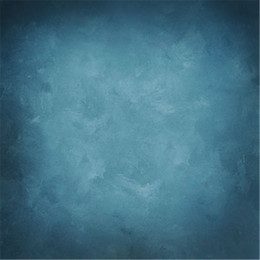 China Blue Old Master Style Photography Backdrops Vinyl Fabric Wedding Model Photo Studio Photographer Portrait Background Solid Color supplier fabric spray paints suppliers