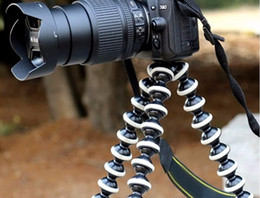 Wholesale Large Octopus Flexible Tripod Stand Gorillapod 1 4 and 3 8 Screw for Camera Digital FOR DV Canon Nikon