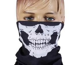 $enCountryForm.capitalKeyWord UK - Halloween Scary Mask Festival Skull Masks Skeleton Outdoor Motorcycle Bicycle Multi Masks Scarf Half Face Mask Cap Neck Ghost