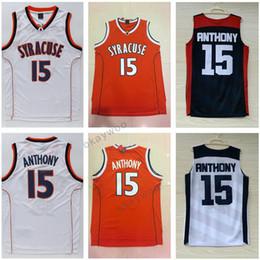 1d71df3a7 ... Stitched Syracuse College Jerseys 7 Carmelo Anthony Jersey Orange White  Anthony Davis Jersey 2012 USA Dream Syracuse Orange 15 ...