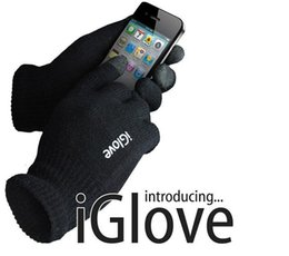 touch capacitive gloves Canada - With retail pack High quality Unisex iGlove Capacitive Touch Screen Gloves for iphone 5 5C 5S for ipad for smart phone iGloves gloves