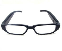 HD 1080p gafas mini cámara eyewear cámara estenopeica gafas de sol MINI DV DVR grabadora de video digital voz negro