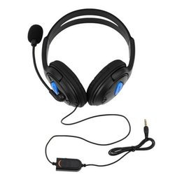 China 3.5mm Gaming Headset Headphones Earphone with Microphone for Sony PS4 PlayStation 4 Controller suppliers