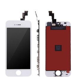 iphone screens NZ - Front Assembly LCD Display Touch Screen Digitizer Replacement Part for iphone 4 GSM 4S Black White High Quality
