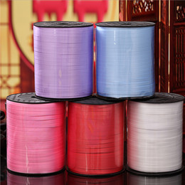 $enCountryForm.capitalKeyWord NZ - 500 Yards Balloon Cable Ties Plastic Ribbon Wedding Decoration Gift Christmas Colored Party Decorations Cheap Colored Ribbon Wholesale