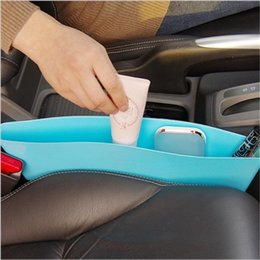 Discount car caddies - Car storage bag box Seat Pocket Catch Caddy Catcher Organizer Space Save Store Car Seat PP Stowing Tidying