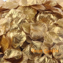 Discount rose petals white yellow - 25Colors Hot Sell Rose Petals Artificial Petals Silk Simulation Flowers Wedding Decorations Fashion For DIY wedding Part