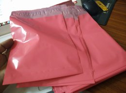 Lips Seals Australia - Wholesale-[cnklp]-Hot Pink 15x20cm+3.5cm lip Co-extruded Multi-layer SELF SEAL POLY MAILERS BAGS ENVELOPE [20PCS]
