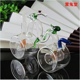 Wholesale Big wheel bike large capacity glass high CM wheel width CM weight is grams color random delivery glass hookah large bett