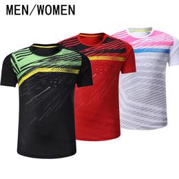 97e4ebfdea761 Jeux de badminton avec livraison gratuite, maillots de tennis homme /  femme, vêtements de sport, séchage rapide et absorption de la sueur