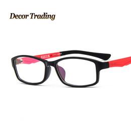 8b05093c4a1 Wholesale- Men Women Ultra Light Eyeglasses Frames Eyewear Plain Glass Spectacle  Frame Optical Brand Eye Glasses Frame Lenses 2619