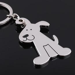 $enCountryForm.capitalKeyWord NZ - High Quality Lovely dog Alloy key chain Keychain key ring wedding favors key chain wedding gifts