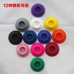 $enCountryForm.capitalKeyWord UK - 12 colors Tight Abosorb Silicone Suckers Ego Sucker Ego Base Ego Suction Cup Ego Holder Ego Display Stands Portable E-cigarette Rubber Caps