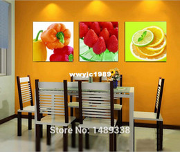 Free Shipping Hot Sales Fresh Fruits For Kitchen Decoration HD Printed On  Canvas Beautiful Stil Life For Home Decor