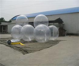 Fedex Free Popular Eau Balle Ballon PVC Gonflable Ball Zorb Ballon Eau Promenade Balle Danse Ball Ballon De Bal 1.3m 1.5m 1.8m 2m
